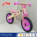 2017 hot sale kids wooden bike/popular wooden balance bike/new fashion wooden bike children balance from Yimei