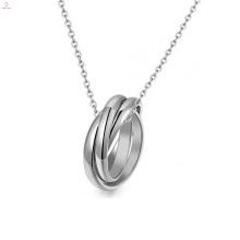 Conception d'anneau unique, bijoux en anneau en acier inoxydable