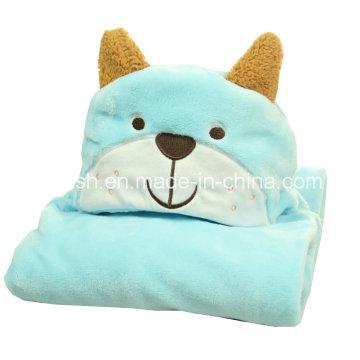 Capa de lana coralina cálida para niños