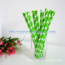 DOT Colorfully Paper Drinking Straws