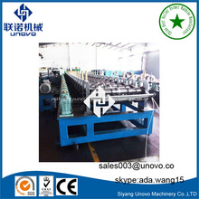 Automatic metal anode plate roll forming machine