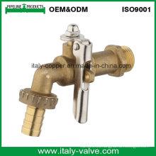 OEM y ODM Calidad de latón forjado Lockable Bibcock (AV2035)