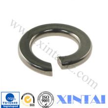 Aço inoxidável 304 Arruela plana palpada de zinco Arruela de mola DIN125 DIN127