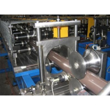 Rollo automático del canal de la lluvia de la techumbre del metal que forma la máquina