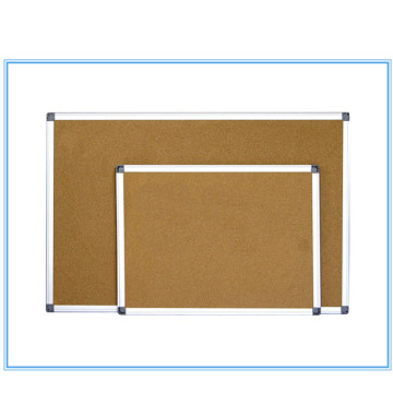 Aluminium-Rahmen-Magnetkorkenbrett-Anzeigebrett
