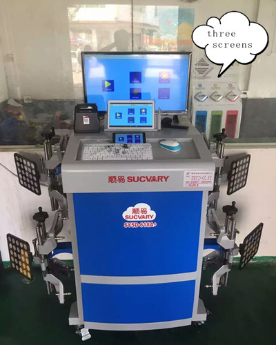 5D Wheel Aligner Machine Factory Supply
