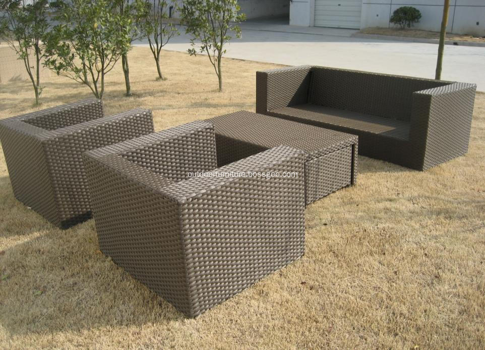 DLR1108-14 Garden Comfortable Classic Sofa Furniture Set