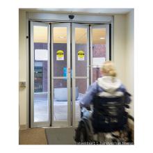 Deper Z20 modern european design interior home door aluminum glass automatic folding door system