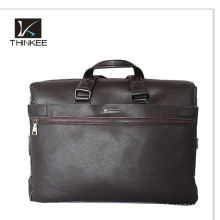 Retro Style Real Cowhide Leather Men Messenger Bag