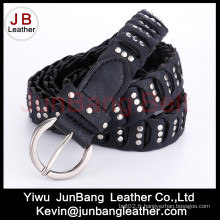 La ceinture en serre PU Ladie de la mode avec rivets