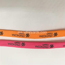 Fesyen Custom Silk Screen Printing Boot Shoelaces