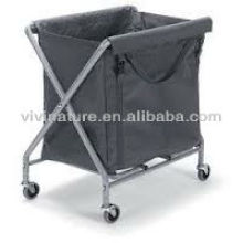 Durable Foldable Laundry Sorter\Laundry Cart \Laundry Hamper with Wheels