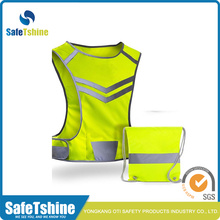 top quality high light vest with pocket