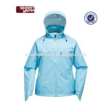 Chaqueta de lluvia impermeable 100% del poliéster OEM chaqueta de viento personalizada al por mayor