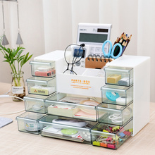 Plastic Multi-Functional Cosmetic Box