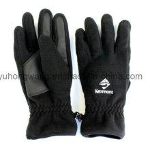 Дешевые мужские теплые шерстяные перчатки / рукавицы с вышивкой
