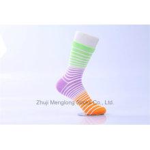 Klassische Entwürfe Beatiful Dame Cotton Socken Frau Socken