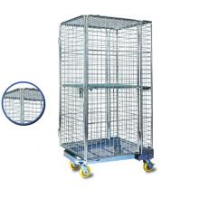 Gaiola de aço do armazenamento da rede de arame do metal do rolamento do armazém