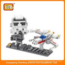 Shantou Toy Factory Loz juguete de plástico mini bloque de construcción DIY Toy juguete educativo para niños