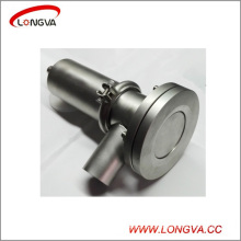 Sanitary 316 Stainless Steel Pneumatic Tank Bottom Valve