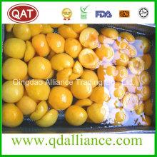 IQF Yellow Peach avec bonne qualité 2016 Nouvelle culture