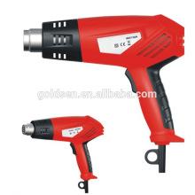 Heiße 1600w / 2000w Power Mini Heißluft Heizpistole Schweißwerkzeuge Tragbare elektrische Farbe entfernen Pistole