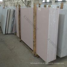 Pedra de quartzo rosa, concreto artificial, painel de pedra falsa