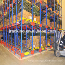 Cold Store Warehouse Rack Radio Shuttle Rack Pallet Rack System