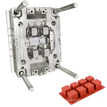 manufacture design custom new soap mould custom silicon rubber injection molds making