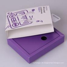 Kundenspezifische Bluetooth-Kopfhörer-Schubladenbox mit Aufhänger