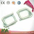 Hebillas de alambre galvanizado de 19 mm