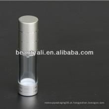 15ml 20ml 30ml 50ml 100ml 200ml COMO o frasco transparente Airless para a embalagem cosmética