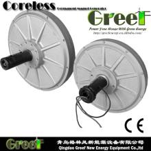 Générateur axial d'aimant de flux axial de 1kw 80rpm pour des ventes