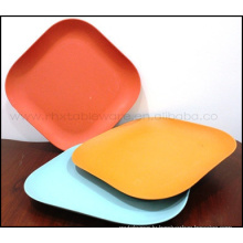 New Eco-Friendly Square Bamboo Tray Tableware