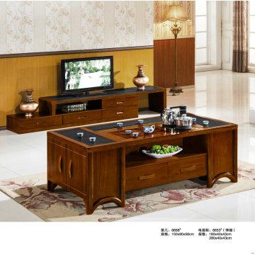 Meuble de TV en bois Table de Table basse, Chine (8668)