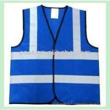 haute sécurité réguliers réfléchissantes visibles de la veste de