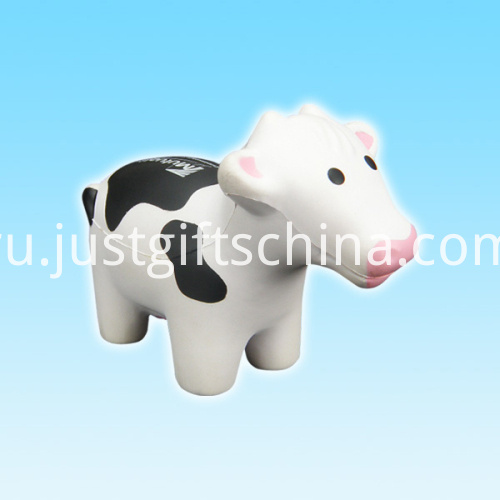 Promotional PU Cow Shape Stress Ball2