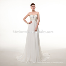 Мода пол-длина свадебное платье белого цвета кружевное сексуальное свадебное платье с спагетти ремень