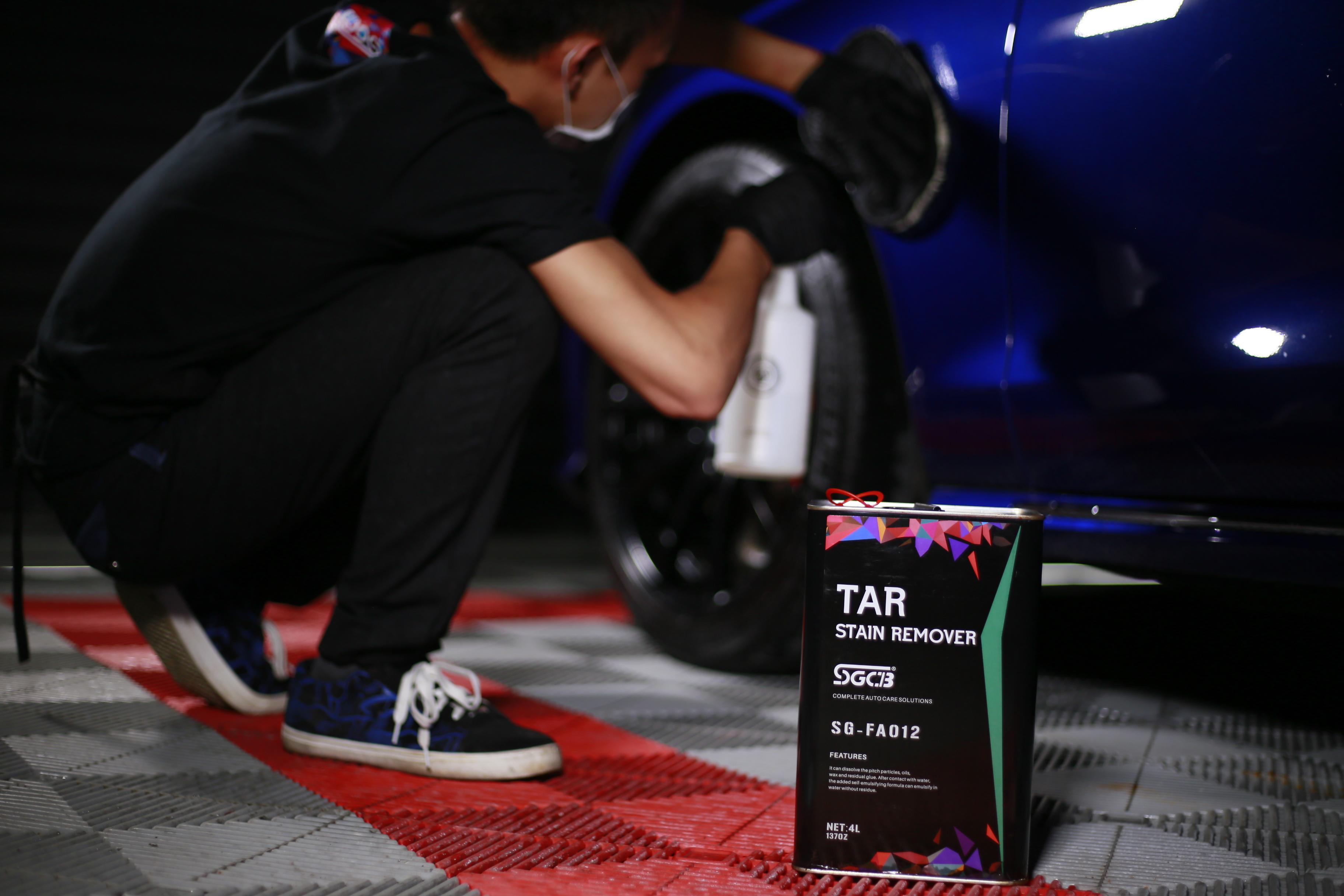 Tar Remover Car