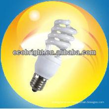 energía ahorro lámpara Mini semi-espiral 9mm8000H CE calidad