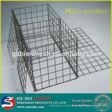 Gabion cesta precio Jaulas de piedra galvanizada / gabion para muro de contención y gaviones rocas para gaviones (productos principales)