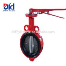 Desligue Lug Watt Pneumático Ace Damper Cast Iron Wafer Tipo Parafuso Ultraflo Válvula Borboleta 2 Polegada