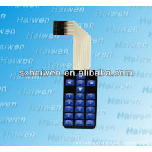 FPC tactile membrane switch with led light
