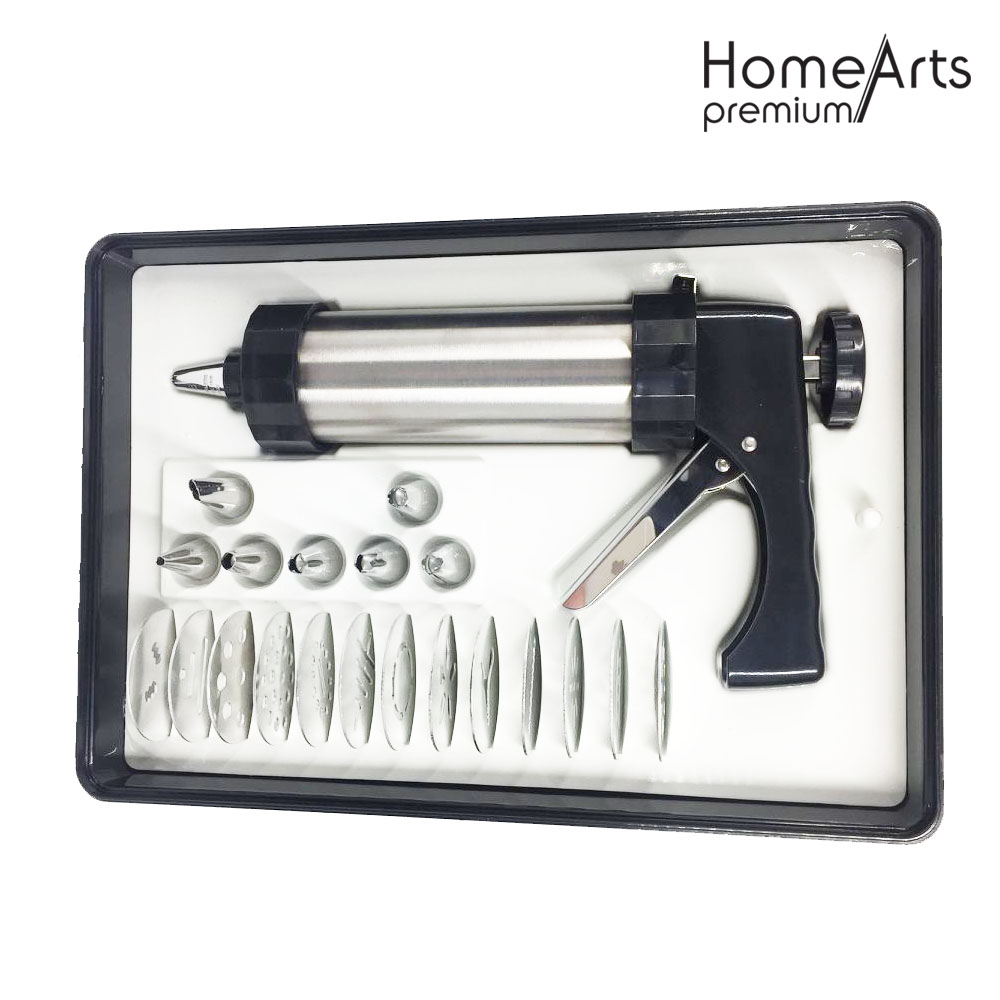 Stainless Steel Gift Pack With Decorating Nozzles