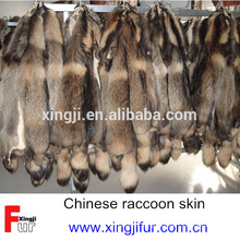 Chinese dressed raccoon dog skin