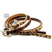 Fashion Skinny Genuine Top en cuir Lady Belt Lky1212