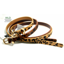 Fashion Skinny Genuine Top Leather Lady Belt Lky1212