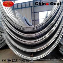 Arco de tubería de acero corrugado acanalado acanalado de metal