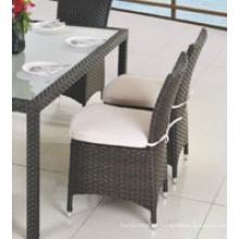 Silla de aluminio de lujo duradero de la limpieza fácil para el restaurante