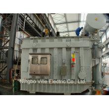 Transformador eléctrico del horno del arco / transformador de la fuente de alimentación Transmisión de la distribución de energía